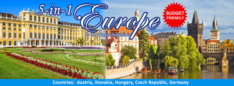 5-in-1 Europe Tour, Filipino Group tour