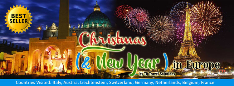 Christmas in Europe, Filipino group tour package