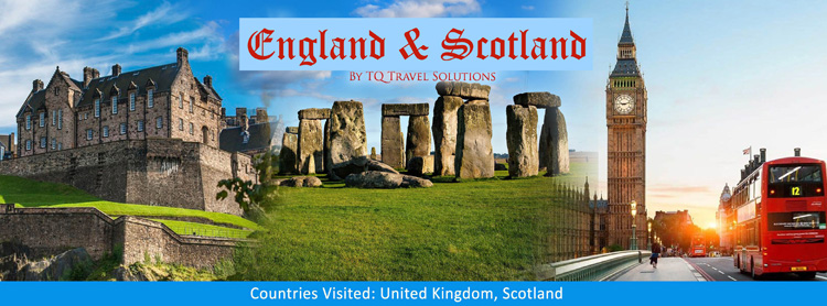 England and Scotland, Filipino group tour package