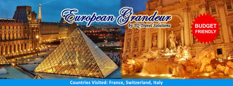 European Grandeur, Filipino group tour package