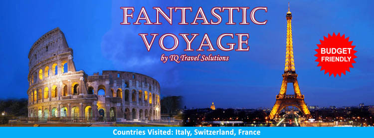 Fantastic Europe Voyage, Filipino group tour package
