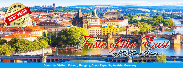 Taste of Eastern Europe, Filipino group tour package