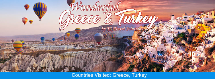 Wonderful Greece and Turkey, Filipino group tour package