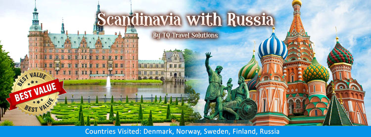 Scandinavia with Russia, Filipino group tour package
